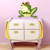 Frog Prince Wall Stickers