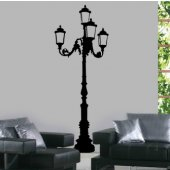Lamp Post Wall Stickers