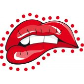 Lips Wall Stickers