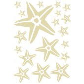 Star fish Set Wall Stickers