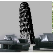 Tower of Pisa Wall Stickers