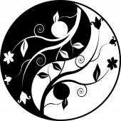 Yin yang Wall Stickers